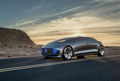 Mercedes F015 Limousine sans conducteur
