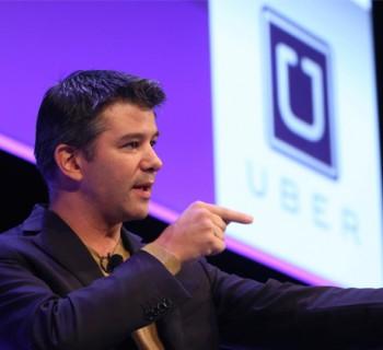 Le PDG d'Uber, Travis Kalanick