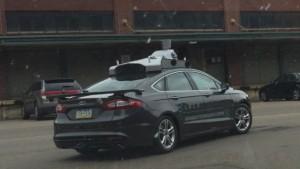 Prototype de la voiture autonome d'Uber