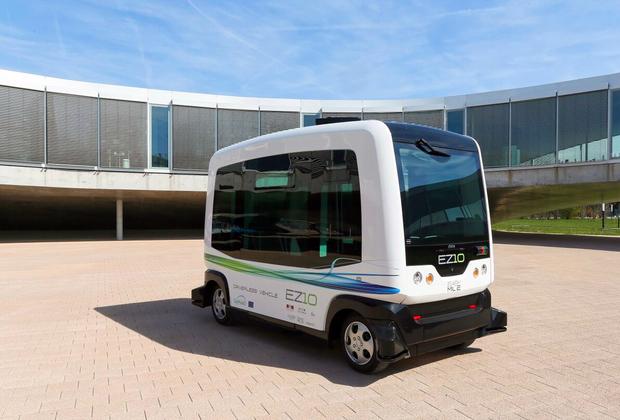 wepod voiture autonome