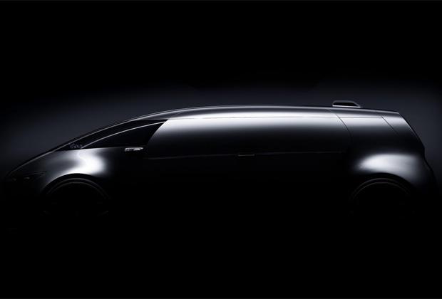Mercedes Benz Vision Tokyo Concept Car autonome