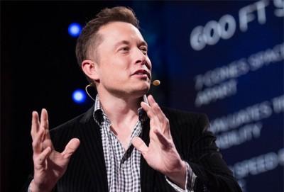 Elon Musk, PDG de Testa