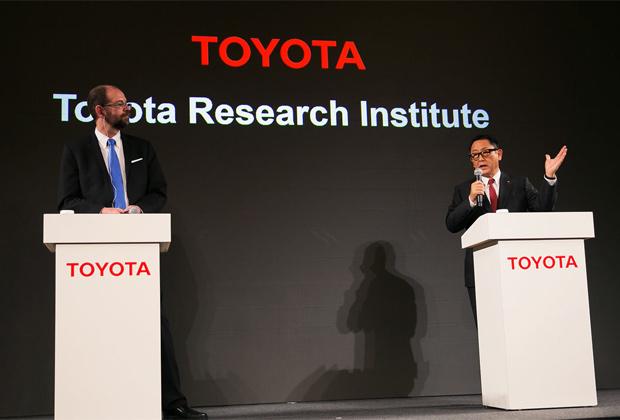 Centre de recherche Toyota voiture autonome