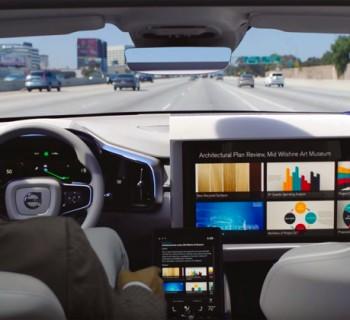 Intérieur du concept 26 de Volvo