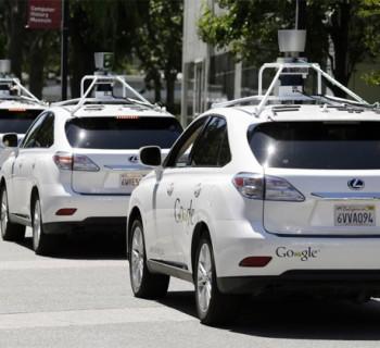 Lexus Google Car autonome