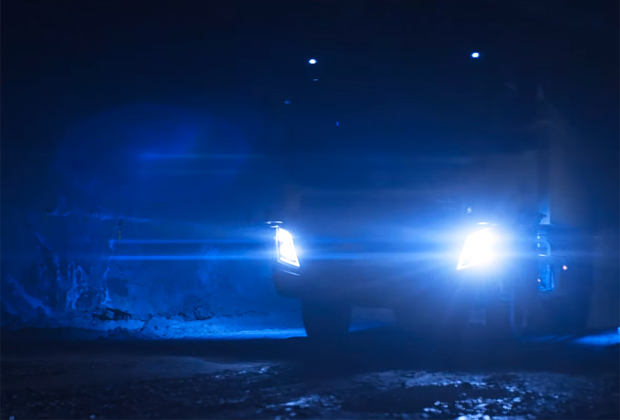 Camion autonome sans chauffeur volvo
