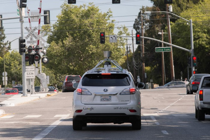 Google Car Lexus Ville