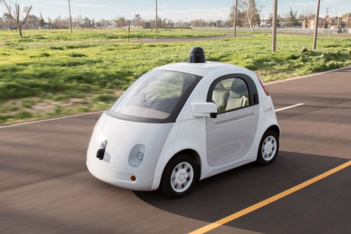 Google Car Prototype Final 2015