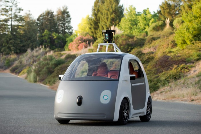 Prototype Google Car 2014