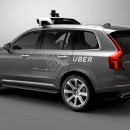 Uber XC90 Volvo Véhicule autonome